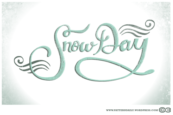 Snow Day /// PatternDaily