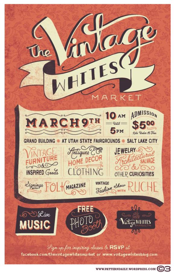 The Vintage Whites Market /// PatternDaily