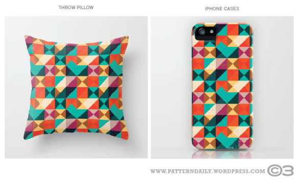 Society6 // Diamond Pattern // PatternDaily