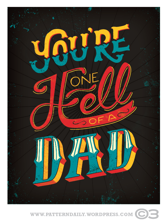 One Hell Of A Father's Day Card
