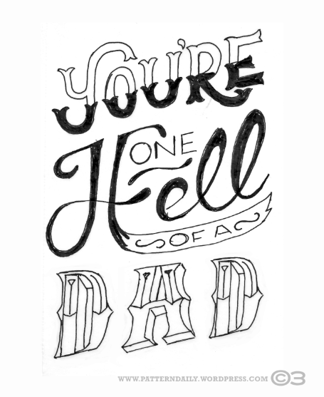 One_Hell_Of_A_Fathers_Day_Card_SKETCH